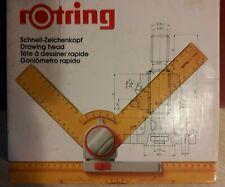 Rotring - Tête à dessiner rapide Art. 522345 - Neuf - Boite sale et abimée