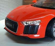 Véhicules miniatures orange en acier embouti Audi