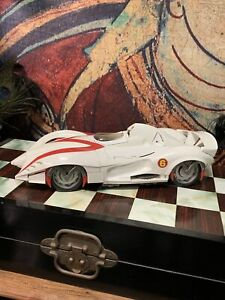Speed Racer vehicle car Mach 6 Movie collectable works well 38cm lights sounds