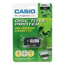 Casio TR18BK Thermal Ink Ribbon Cartridge, Black, EA - CSOTR18BK