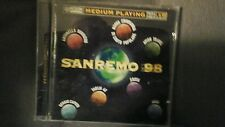 COMPILATION - MEDIUM PLAYING SANREMO 98 (CAPUTO TAGLIA 42 AVION TRAVEL...) CD