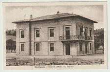 ITALIA - PERUGIA - CORCIANO - cartolina MANTIGNANA - Casa del Littorio - nvg -fp