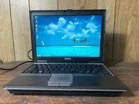 "Dell Latitude D430 12"" Windows XP PRO SP3 Laptop RS232 Serial Parallel WIFI DVD"