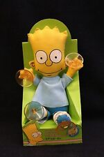 The Simpsons - Bart Nodder - 1990 Bart Simpson Stick-On Suction Cup - RARE