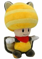 "Little Buddy (1314) 8"" Musasabi Yellow Toad Flying Squirrel Plush Super Mario"