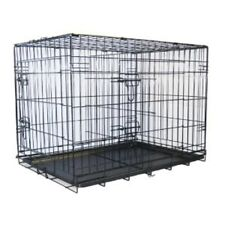 "Go Pet Club 42"" Two Door Folding Metal Cage w/Divider MLD-42 Dog Furniter NEW"
