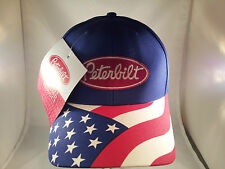 new peterbilt flag baseball cap