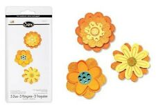 Sizzix Sizzlits FLOWER LAYERS SET - 3 Dies BEAUTIFUL! 656324