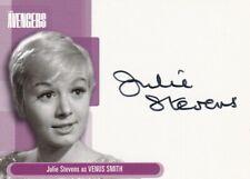 The Avengers Definitive Collection 2003 autograph card A5 Julie Stevens