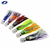 "9"" 6 PCS LOT SALTWATER TROLLING FISHING LURES FOR BIG GAME TUNA MARLIN"