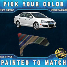 NEW Painted to Match - Front Right Fender for 2005-2010 Volkswagen Jetta Type 5
