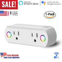 Smart Plug WiFi Socket Outlet Remote Control Switch For Alexa / Google Home