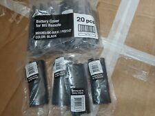 25 NEW BLACK Battery Door Cover Replacement for Nintendo Wii Remote Controller