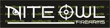 Nite Owl Firearms - Hunting/Outdoor Sports - Vinyl Die-Cut Peel N' Stick Decals