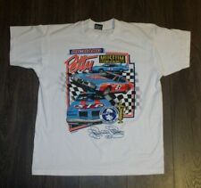 Vtg 90s Richard Petty Museum Tee Large 50/50 Fol Best Made in Usa