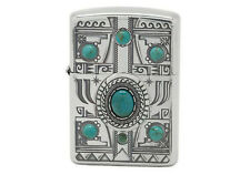 Zippo Indian Spirit Eagle with Natural Stone/ RARE Model from JAPAN !