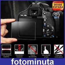 Protector de Pantalla Nikon D5300 Rigido Vidrio Templado LCD Cristal Tempered
