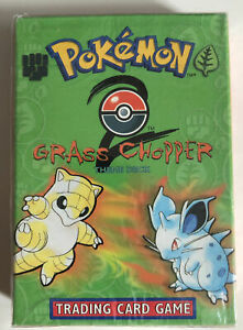 Pokemon Base Set 2 Grass Chopper Theme Deck - NEW Factory Sealed and Unopened