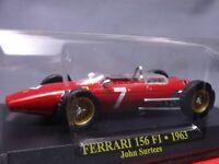 Ferrari Collection F1 156 1963 John Surtees 1/43 Scale Mini Car Display Diecast