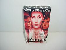 Psychopath VHS Video Tape Movie