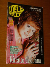 TELESETTE 1999/10=ORIETTA BERTI=ENZO DECARO NAVIGATOR=ROBERTO VECCHIONI=GUIDA TV