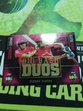 Tap N Play Bbl07 Big Bash Duos Card Sydney Sixers Rd-7 Henriques Perry