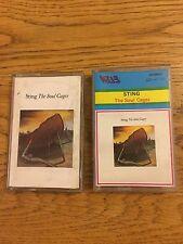 Sting The Police Croatia ? Tape Album The Soul Cages 1991 Original Rare Unique