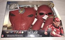 DC Justice League The FLASH Hero-Ready Costume MASK CHEST GAUNTLETS Mattel NEW!