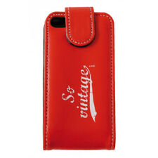 Etui compatible Iphone 4 So Vintage Rouge
