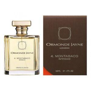 ORMONDE JAYNE 4. MONTABACO INTENSIVO * 1.7 oz (50 ml) Spray * NEW & SEALED