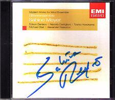 Sabine Meyer SIGNED Modern Denisov Hosokawa raskatov Castiglioni frutta VENTO CD