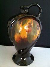 """Exquisite Antique Weller 9 1/4"""" Vase Aurelian-Glaze-Cherries-No. 702/4.     #799"""