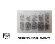 Gewindestifte Sortiment/Set DIN 914 EDELSTAHL A2 M4 250 Teile