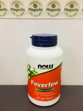 Now Foods Feverfew 100 Caps 400 mg. 40% Off!