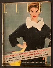 'ELLE' FRENCH VINTAGE MAGAZINE 16 NOVEMBER 1953