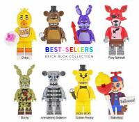 Multicolor Blank People mini figures Building Blocks Toys New