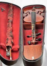 Vieja violín violín arco madera maleta Josepf Guarnerius fecit gremonae Anno 1740