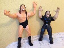 WWE WWF WCW THE BIG SHOW, GIANT WRESTLING ACTION FIGURE LOT JAKKS TOYBIZ