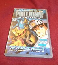 Patlabor: The Mobile Police The TV Series: Vol. 2 DVD bilingual English/Japanese