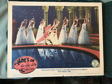 The Heat's On 1943 Columbia 11x14 musical lobby card dancers Lichine and Thorsen