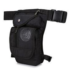 Men Nylon Drop Leg Bag Tactical Military Motorcycle Riding Waist Fanny Pack Bag