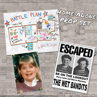 Home Alone Wet Bandits Wanted Sign Flyer Buzz's Girlfriend Photo Battle Plan