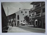 TREVISO via Canova animata vecchia cartolina