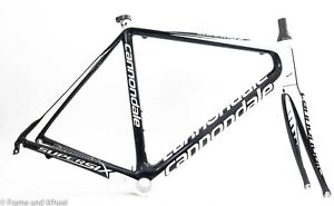 Cannonade SuperSix 56cm carbon frame fork BB30 road bike cycling