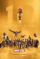 Art Avengers infinity War Movie Poster 20x30 24x36 10 Years Marvel Comics P1560