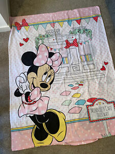 Child Toddler Minnie Mouse Cot Bed Duvet Cover NO PILLOW CASE