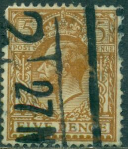 GREAT BRITAIN SG-382,  SCOTT # 166, USED, VERY FINE, GREAT PRICE!