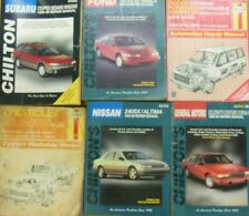 AUTOMOTIVE Service Repair MANUAL - Lot of 6 - Ford Dodge Chevy GM Nissan Subaru