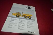Volvo A40D Articulated Rock Haul Truck Dealer's Brochure DCPA6