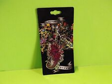"Ed Hardy Sexy Devil Mermaid w/Triton Metal Key Chain 2.5""in Tall"